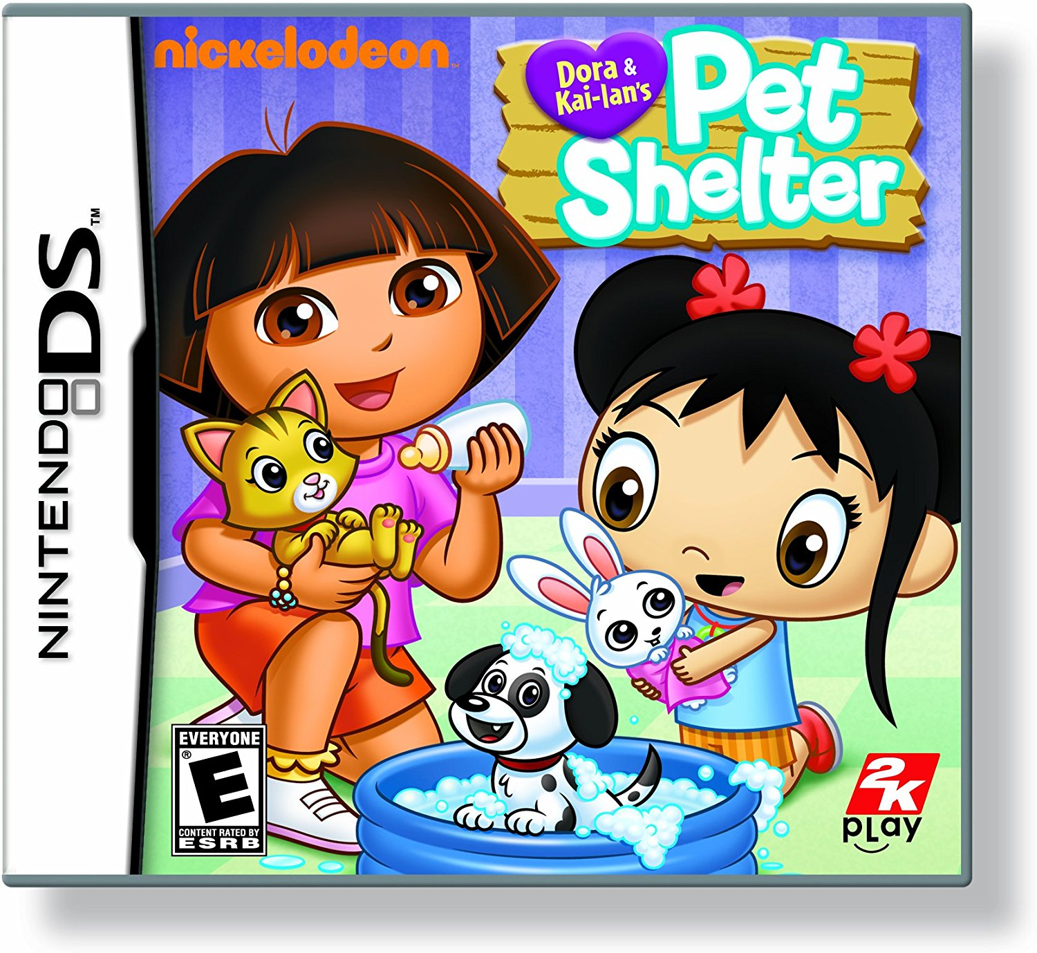 Dora and Kai-Lan's Pet Shelter Nintendo DS, Help Dora and Kai-lan care for lost pets and... by