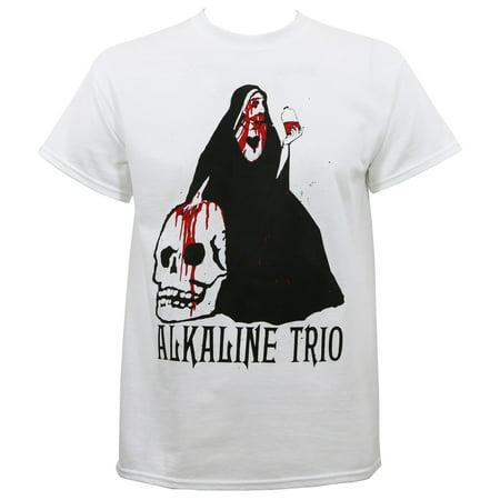Alkaline Trio Men's Nun T-Shirt - Alkaline Trio Halloween