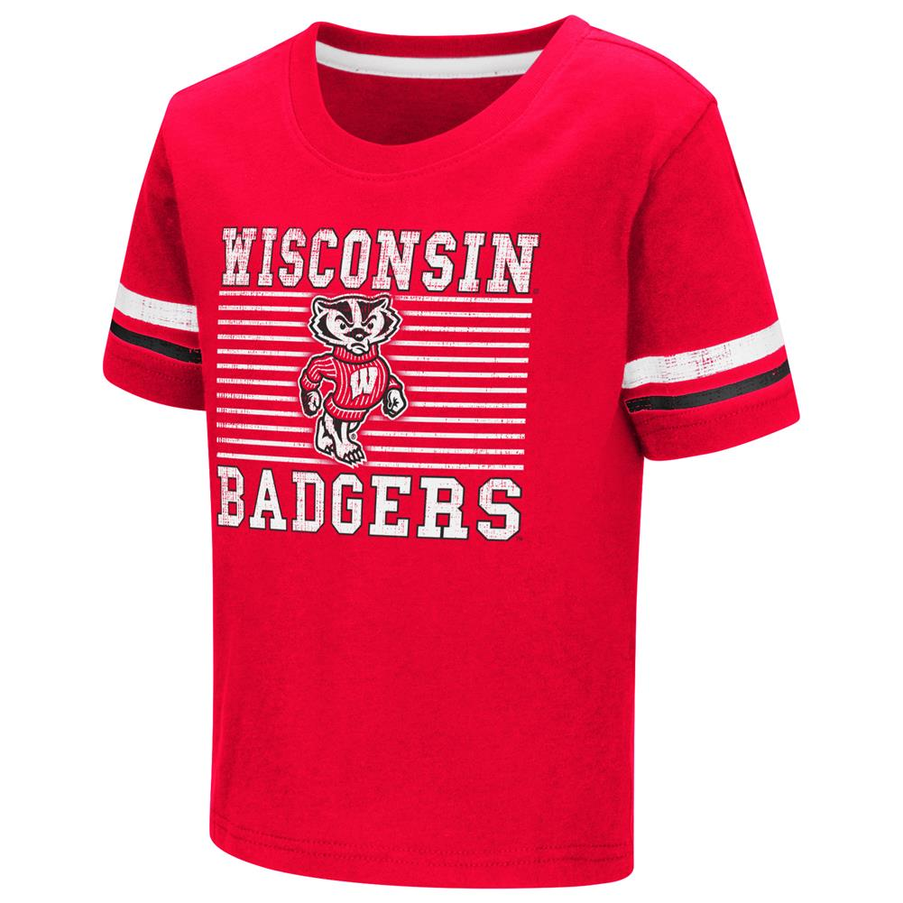 Boys' University of Wisconsin Badgers Toddler Graphic T-Shirt