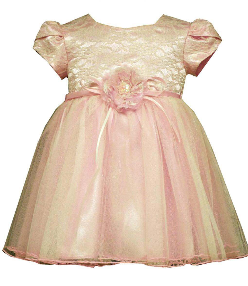 Bonnie Jean Bonnie Jean Little Girls Pink Lace Organza Valentines