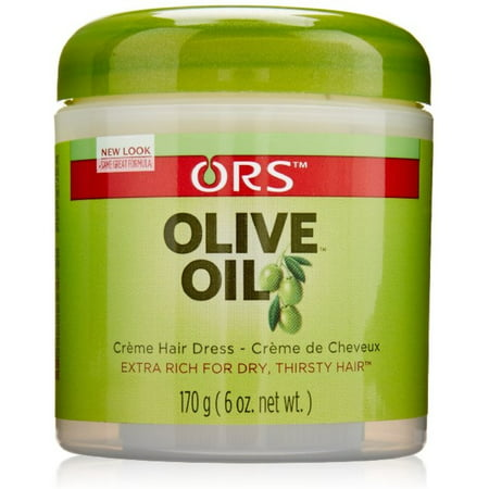 Organic Root Stimulator Olive Oil Creme Hair Dress 6 oz (Pack of