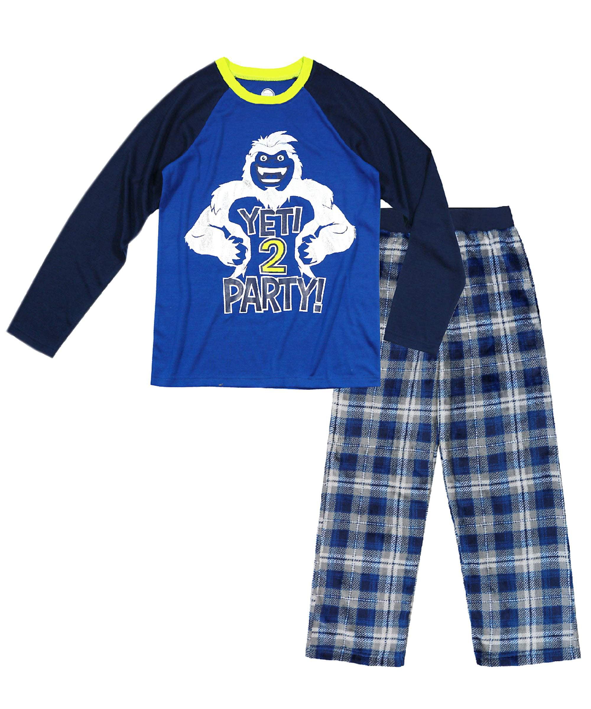 c941cf79 Wonder Nation Boy's Pajama 2 Piece Sleep Set (Big Boys & Little Boys ...