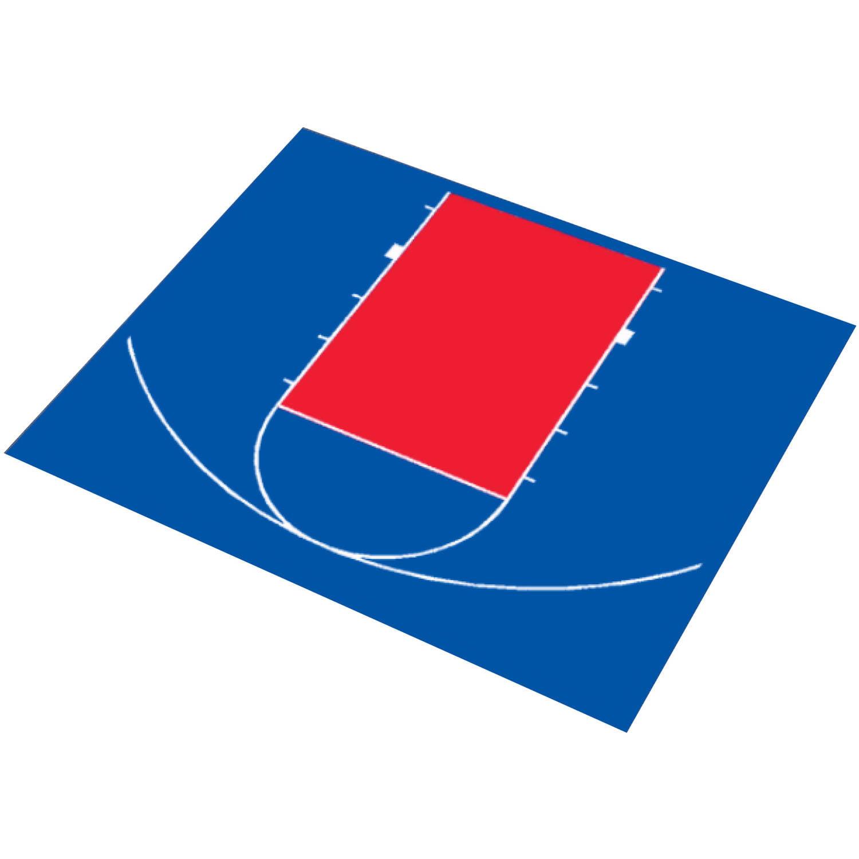 "DuraPlay Half Court Basketball Kit, 30'9"" x 25'8"""