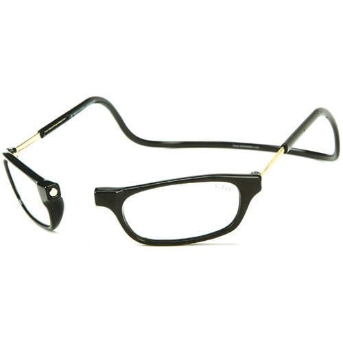 CliC Long Reading Glasses, Black