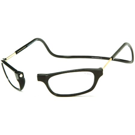 CliC Long Reading Glasses, Black