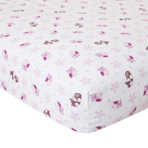Bedtime Originals Lavender Woods Fitted Crib Sheet