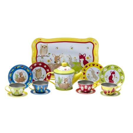 Schylling Forest Friends Tea Time Set (Girls Tea Party)