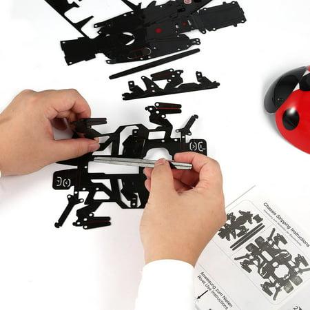 Remote Control Simulate Ladybug Electronic Toy DIY Children Gift Novelty Toy - image 8 of 8
