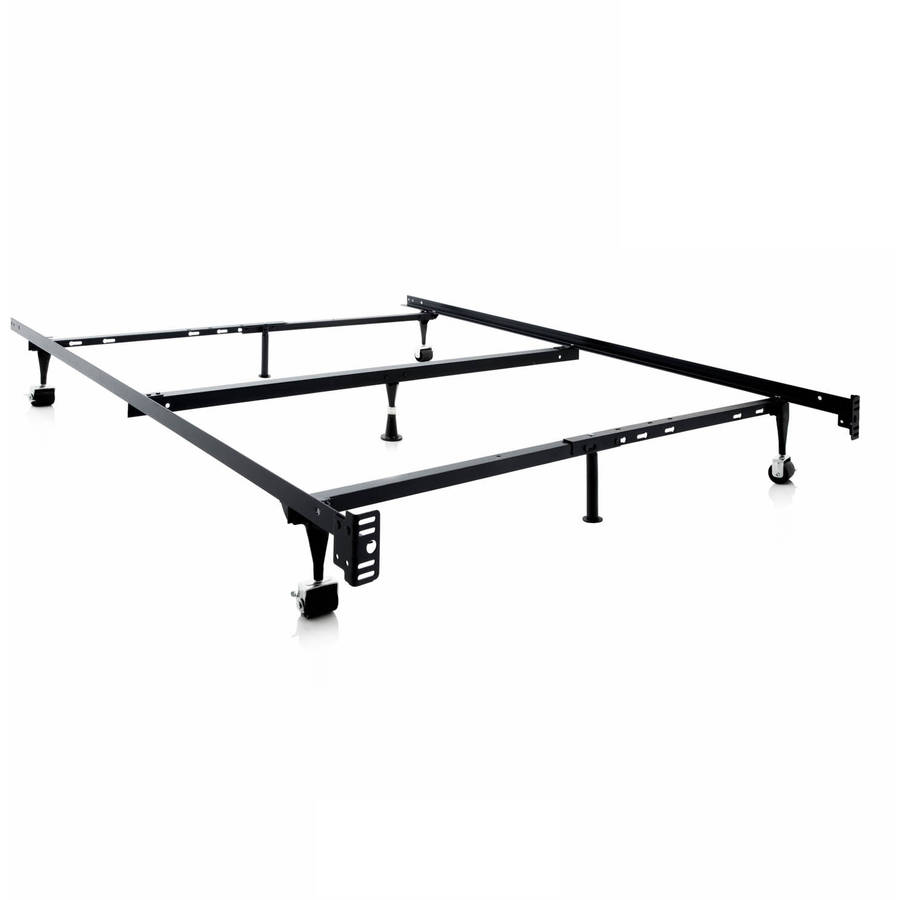 Structures Adjustable Metal Bed Frame Queen Full XL Full Twin