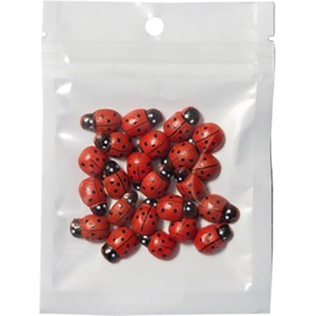 Brutus Monroe Ladybugs With Adhesive Back 2Oz
