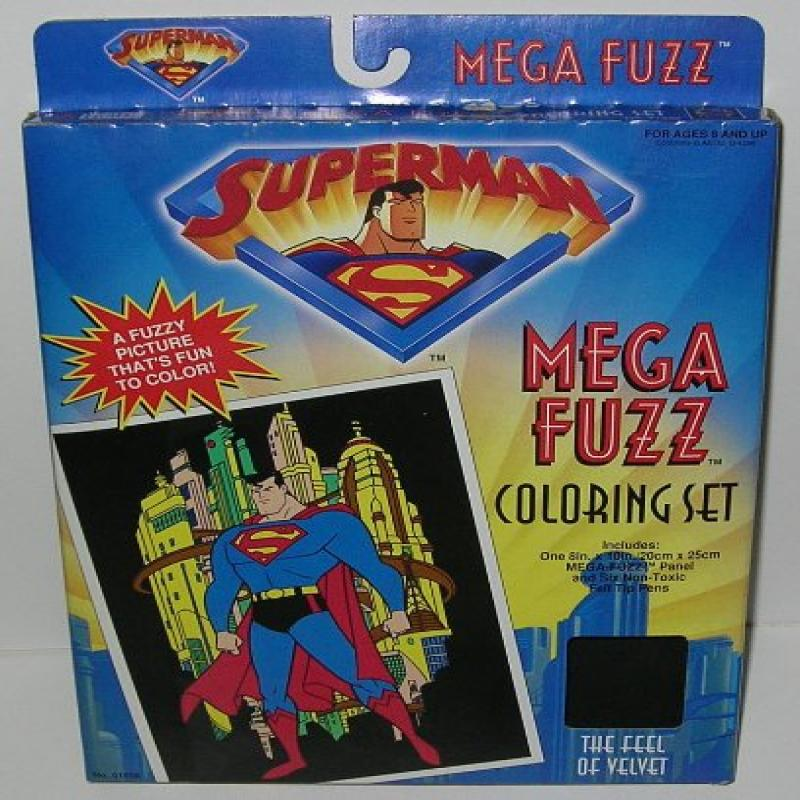 Craft House Vintage DC Comics Superman Mega Fuzz Picture ...