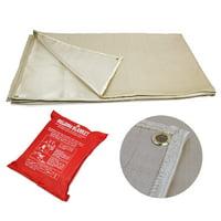 XtremepowerUS 6' x 8' Heavy Duty Welding Blanket Protective Fabric Cover Fire Retardant