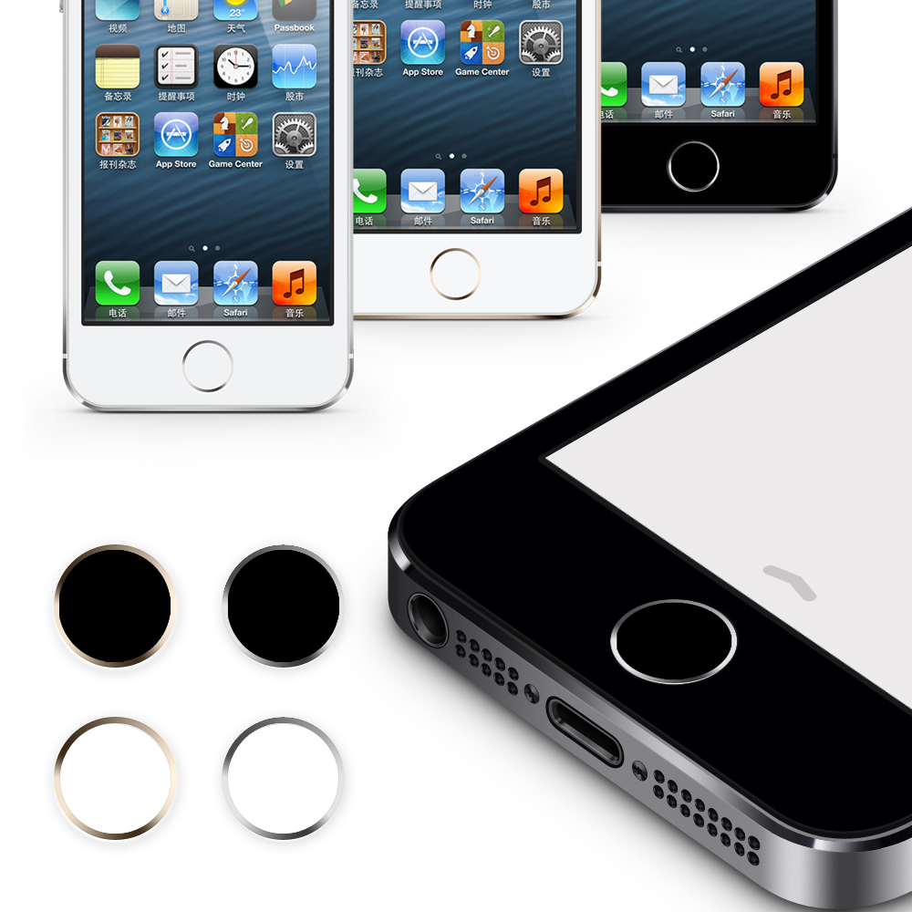 Home Button Sticker for Iphone 5s Iphone 6 Plus