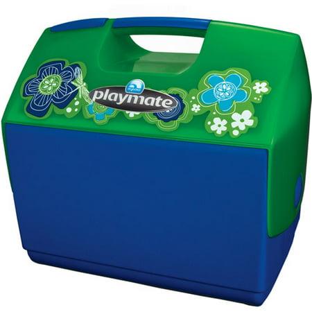igloo playmate elite with designer flowers majestic blue. Black Bedroom Furniture Sets. Home Design Ideas