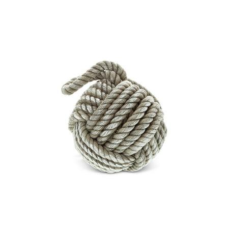 Nautical Decor CoTa Global Grey Sailor Knot Rope Home Accent - Nautical Knot
