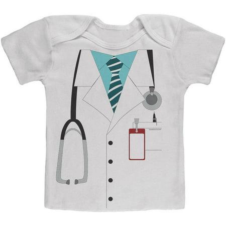 Halloween Doctor Costume Baby T Shirt - Halloween Baby Shirt