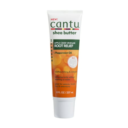 Cantu Apple Cider Vinegar Root Relief, 8 fl oz (Apple Cider Vinegar On Hair Before And After)