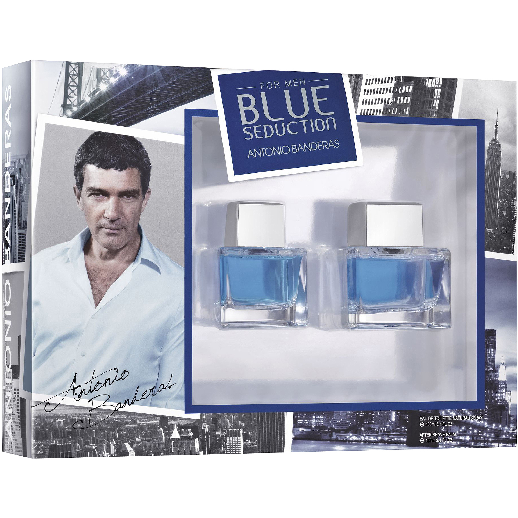 Antonio Banderas for Men Blue Seduction Fragrance Gift Set, 2 pc