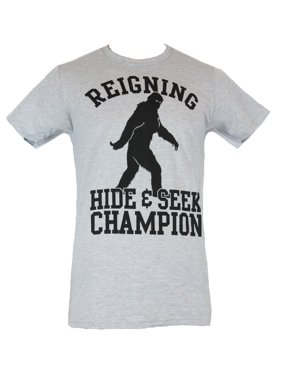 5c9ced86e Product Image Bigfoot Mens T-Shirt - Reigning Hide and Seek Champion Turned  Look Image