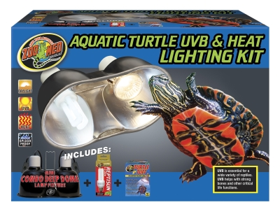 Zoo Med Aquatic Turtle UVB and Heat Lighting Kit by Generic