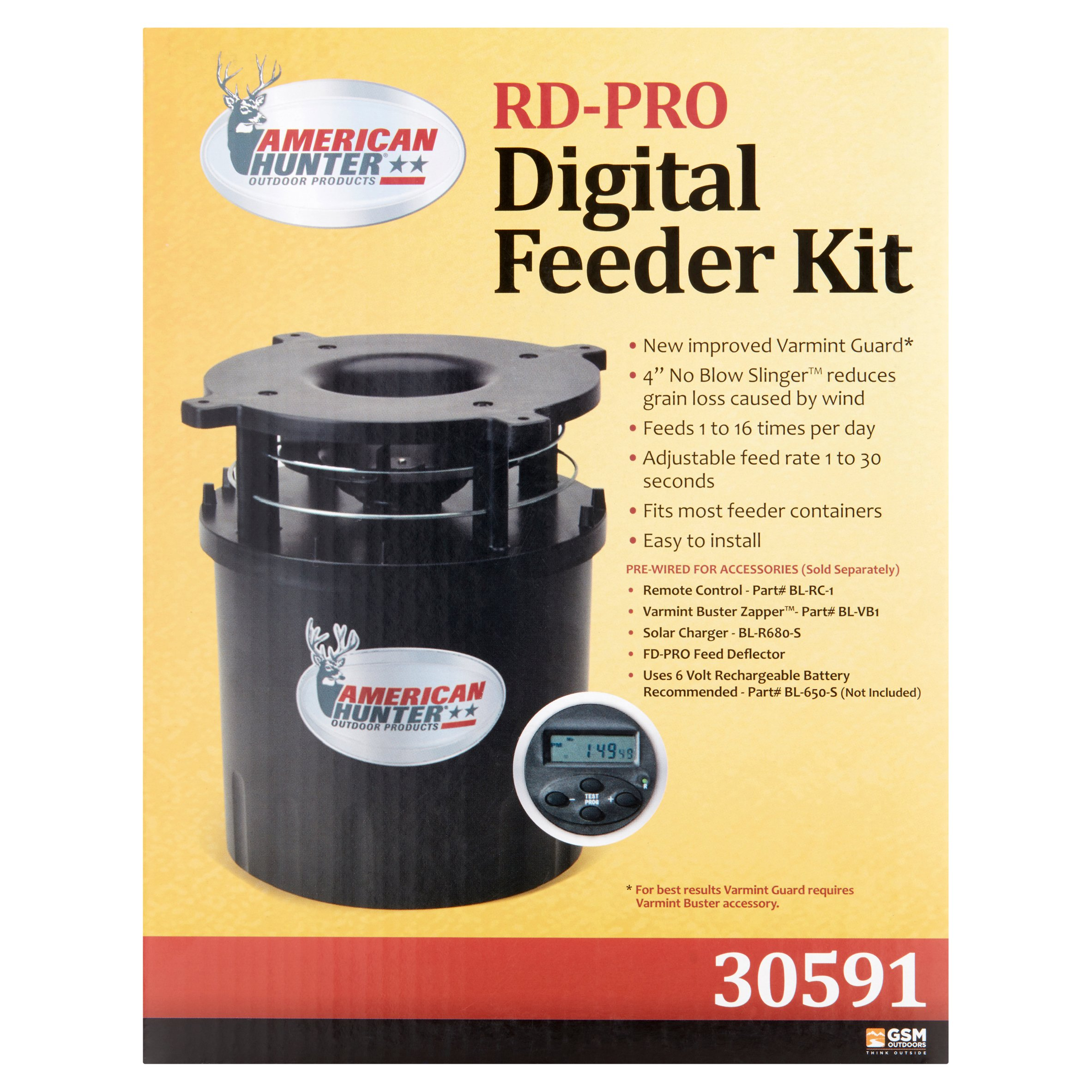 American Hunter RD-Pro Feeder Kit