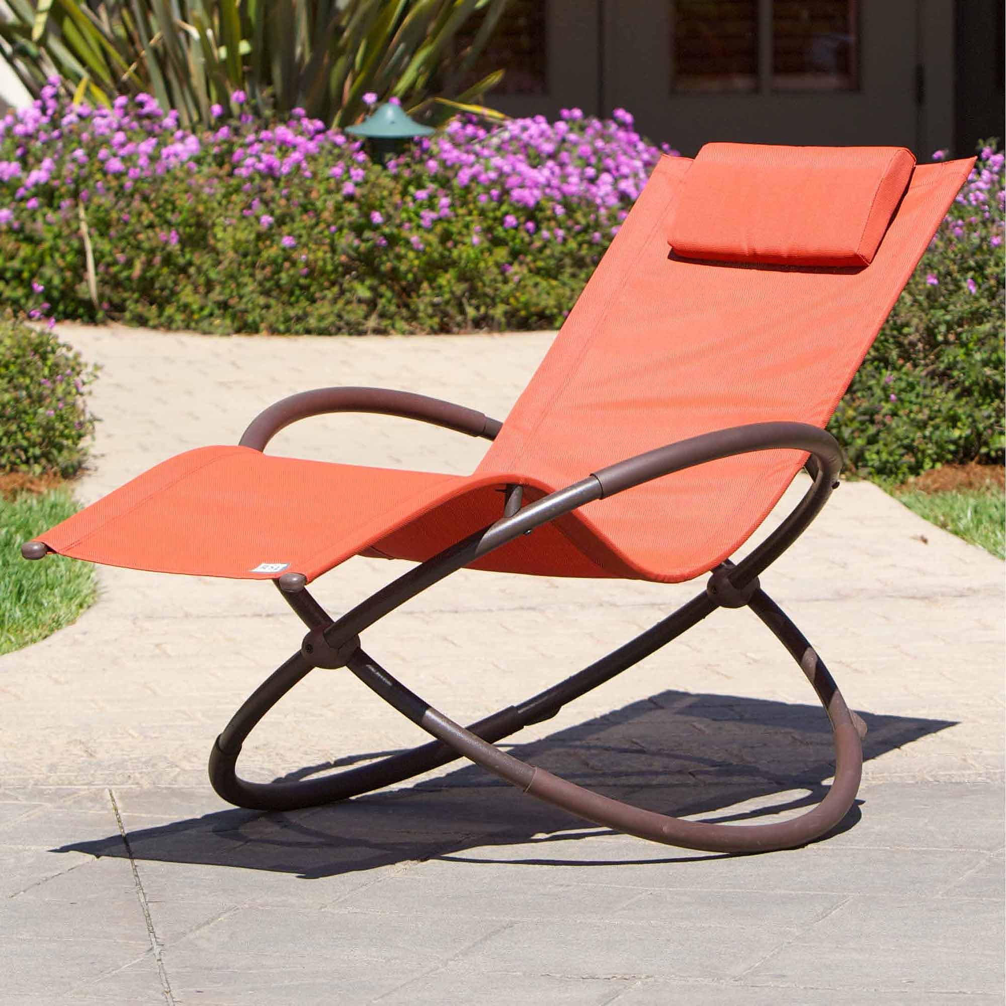 RST Brands Original Orbital Outdoor Lounger Poppy Walmart