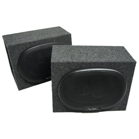Universal Car Truck Suv Harmony Audio R69 Dual 6X9   Speaker Box Enclosures New