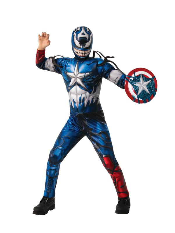 Rubie S Venomized Captain America Child Halloween Costume Walmart Com Walmart Com Check out our captain marvel costume selection for the very best in unique or custom, handmade pieces from our costumes shops. rubie s venomized captain america child halloween costume walmart com