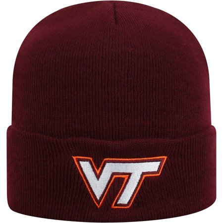 - Men's Russell Maroon Virginia Tech Hokies Team Cuffed Knit Hat - OSFA