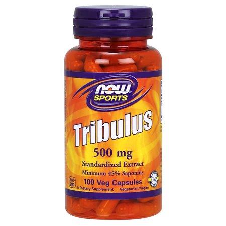 NOW Sports Nutrition, Tribulus (Tribulus terrestris) 500 mg, 100 Veg Capsules - Hawaiian 500 Mg 100 Tabs