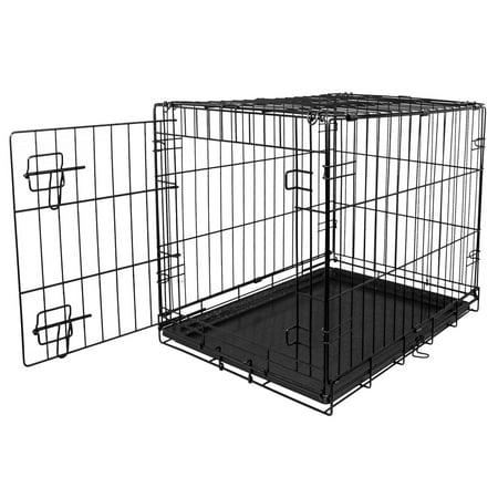 Blue Beagle Dog Folding Crate, 36\