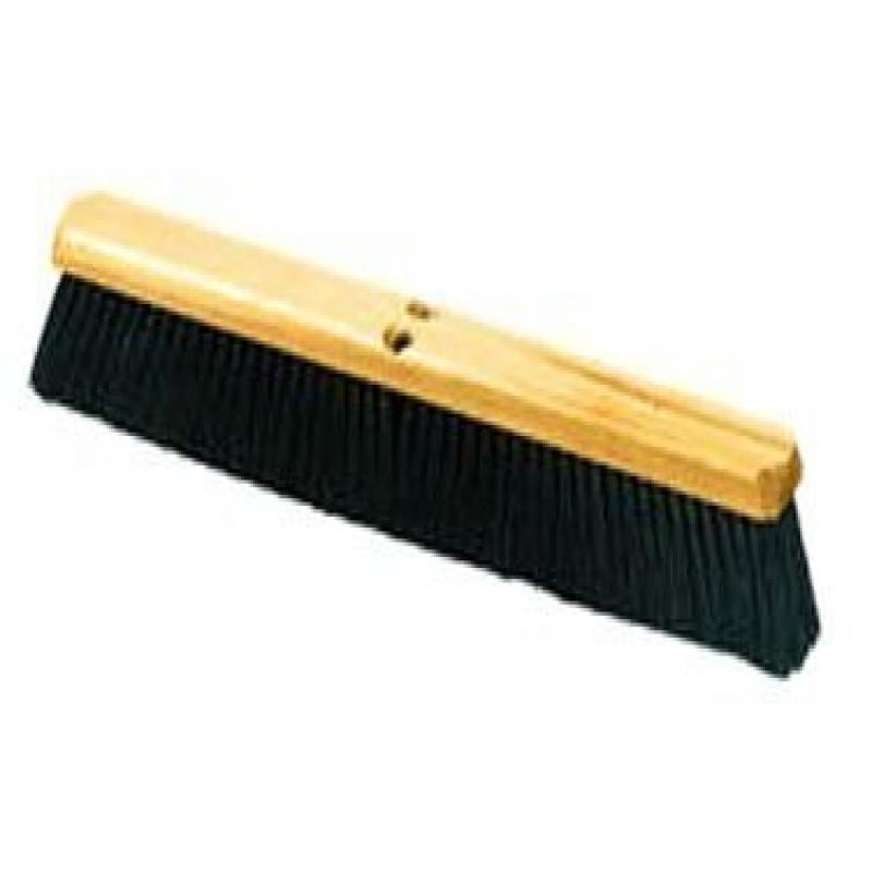 Carlisle 360123600 Flo-Pac Wood Block Floor Sweep with Wire Center, Tampico Bristles,... by