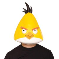 Angry Birds Yellow Latex Costume Mask