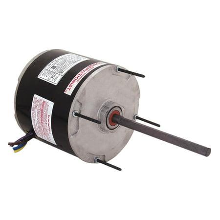 Century 1/3 HP Condenser Fan Motor, Permanent Split Capacitor, 825 Nameplate RPM, 115 Voltage, Frame 48Y - FL1038 (Permanent Split Capacitor Condenser Fan)