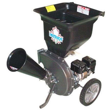 Patriot CSV-2540H 4 hp Gas Wood Chipper Leaf
