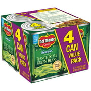 Del Monte Fresh Cut Blue Lake French Style Green Beans, 14.5 oz, 4 Count Box