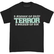 Terror Men's A Minute To Pray T-shirt X-Large Black