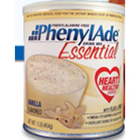 Nutricia North America 9501 PKU Oral Supplement PhenylAde Essential  Chocolate Can Powder - 4 count