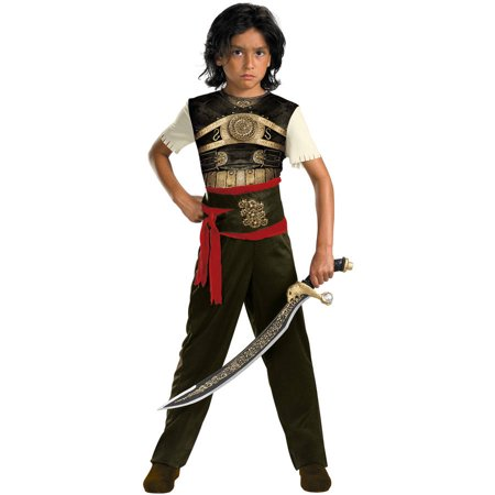 Dastan Classic Boys Child Halloween Costume, One Size, L (10-12) (Halloween Sang)