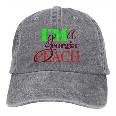 Boniface3 - I'm A Georgia Peach Denim Hat Adjustable Mens