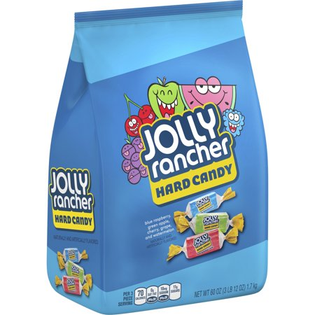 Jolly Rancher Original Flavors Assortment Hard Candy, 60 (Halloween Hard Candy)