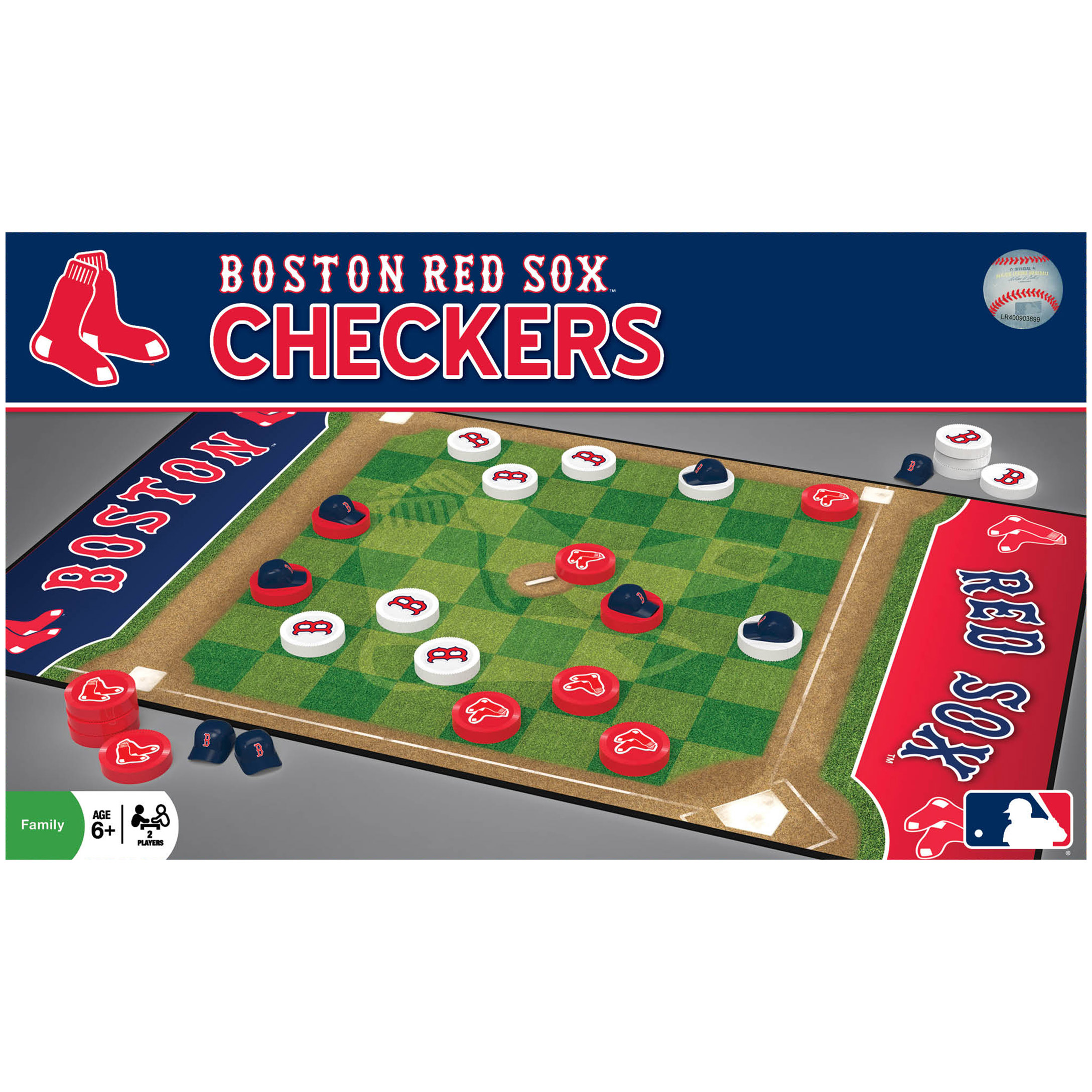 MasterPieces Boston Red Sox Checkers