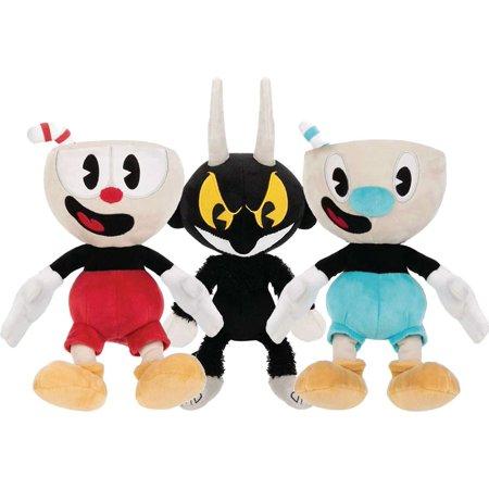Funko Cuphead, Mugman & The Devil Set of 3 Plush