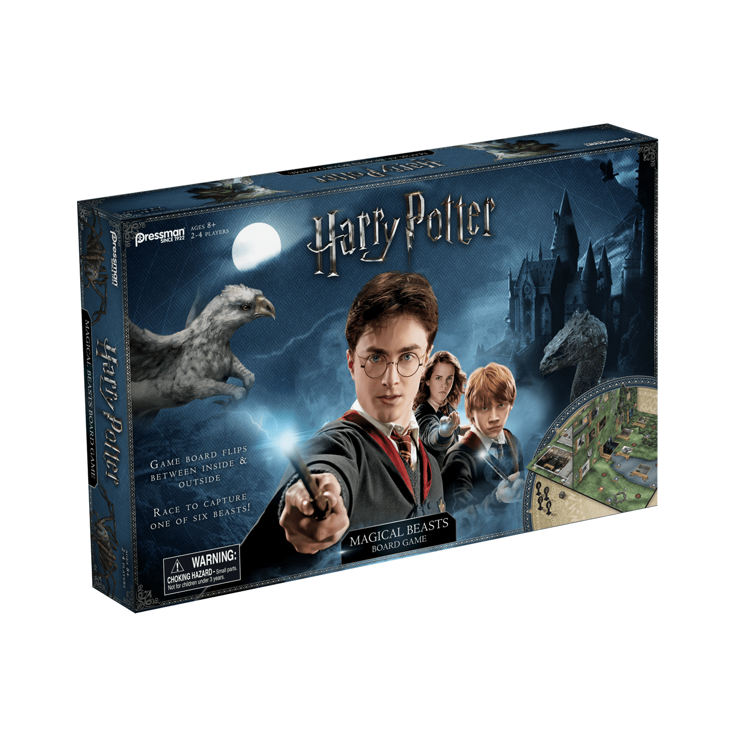 Harry Potter Magical Beasts Board Game by Pressman