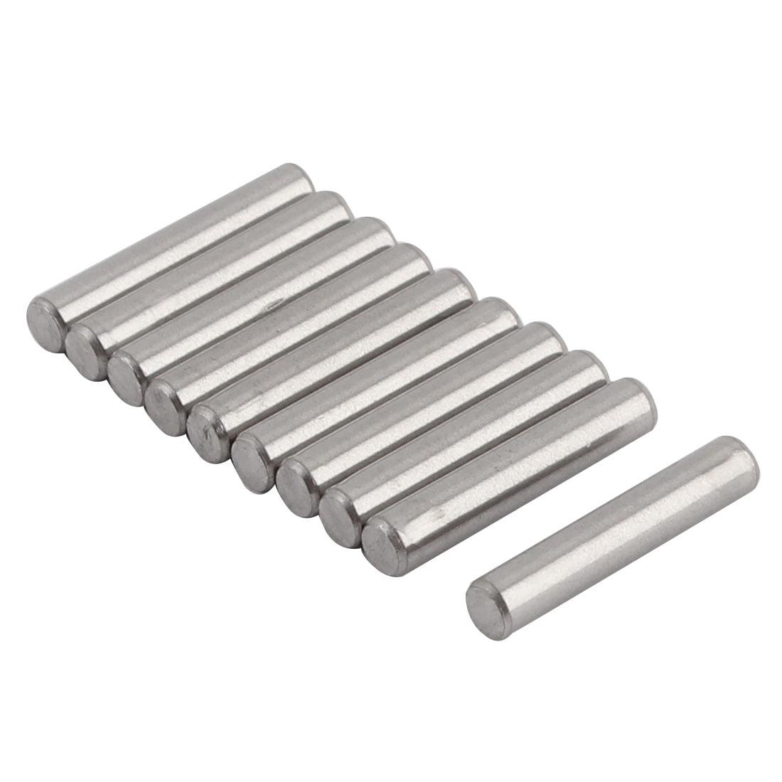 Round Solid Straight Retaining Dowel Pins Rod Fasten Elements 3mmx16mm
