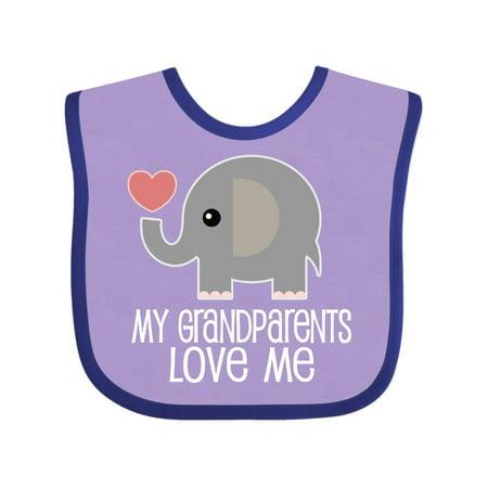 My Grandparents Love Me Baby Clothes Baby Bib