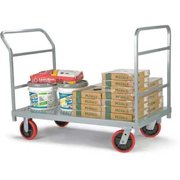 ZORO SELECT 3964 Platform Truck,3200 lb,Steel,54 in L