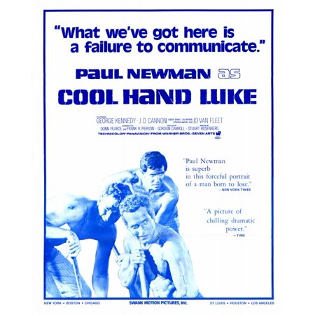 Cool Movie Poster (Cool Hand Luke (1967) 11x17 Movie Poster )