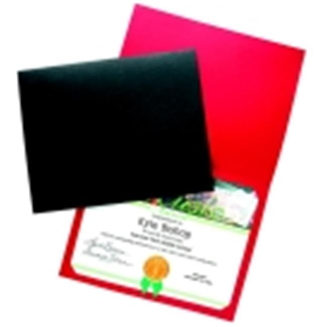 School Specialty Linen Blank Award Cover - Green, Pack 25