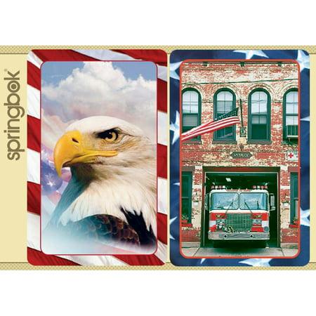 Springbok America the Beautiful Playing Cards Jumbo Print (Print Playing Cards)